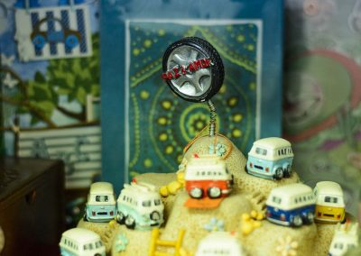 Cotxes en miniatura de decoració
