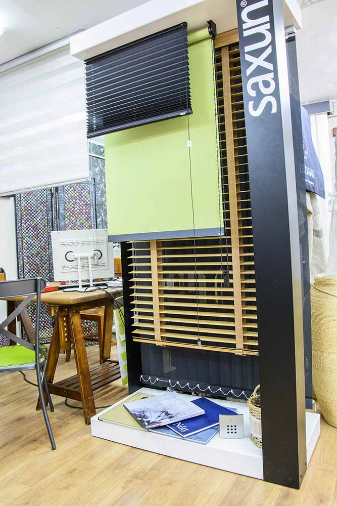 Muestrario de cortinas técnicas Saxun