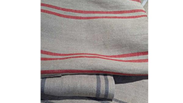 Detalle tejidos de lino
