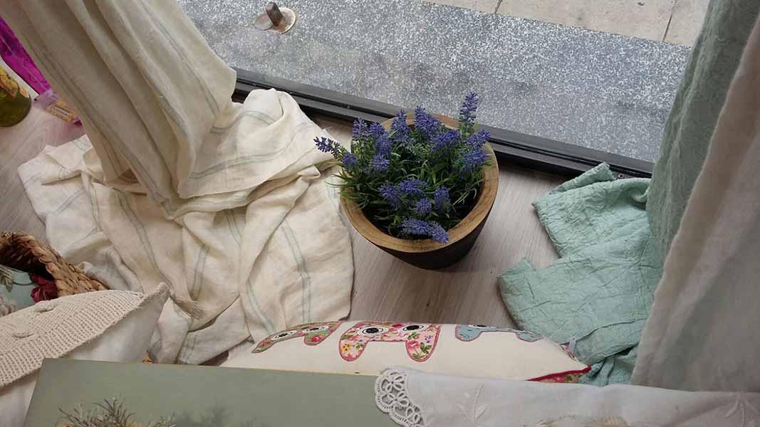Aparador botiga cortinas Barcelona
