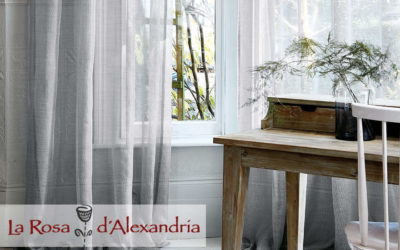 Cortines elegants i senzilles – la Rosa d'Alexandría