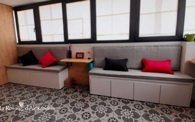 Cortinas y Decoración textil de Lino